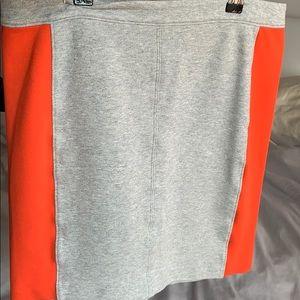 💕 Club Monaco Grey/Orange Skirt💕